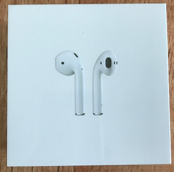 AirPods 상자 앞면