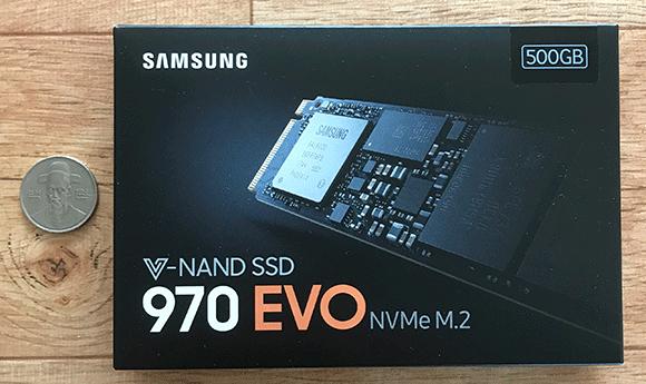 삼성전자 970 EVO 500GB M.2 NVMe MZ-V7E500BW 상자