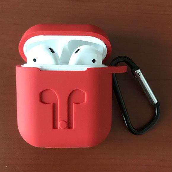 에어팟(AirPod) 실리콘 케이스 장착